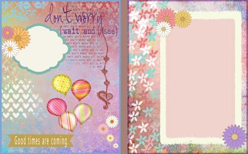 Pretty Flower Journal 2
