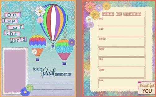 Pretty flower Journal 3