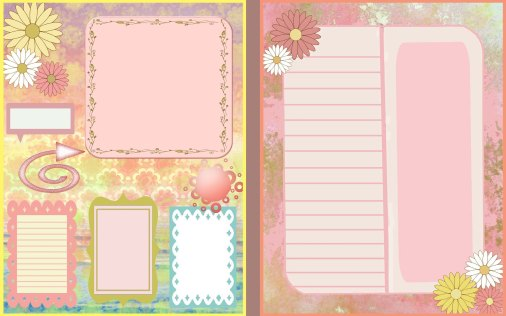 Pretty Flower Journal 4