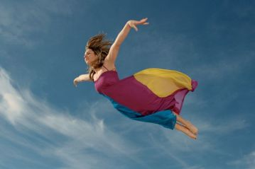 woman-flying