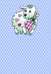 Baby SHower Lamb